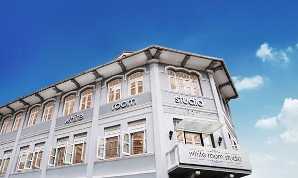 White Room Studio exterior view of Peranakan shop house
